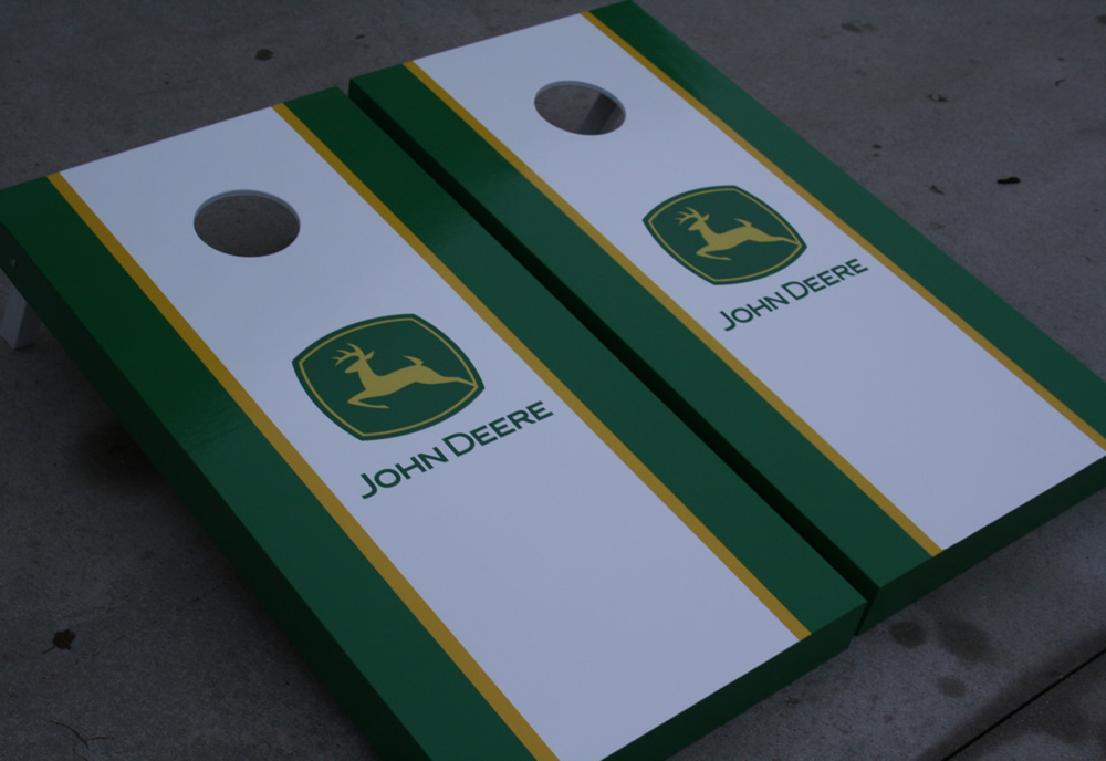 Incredible John Deere Corn Hole Game The Best Photos Of Deer Spiritservingveterans Wood Chair Design Ideas Spiritservingveteransorg